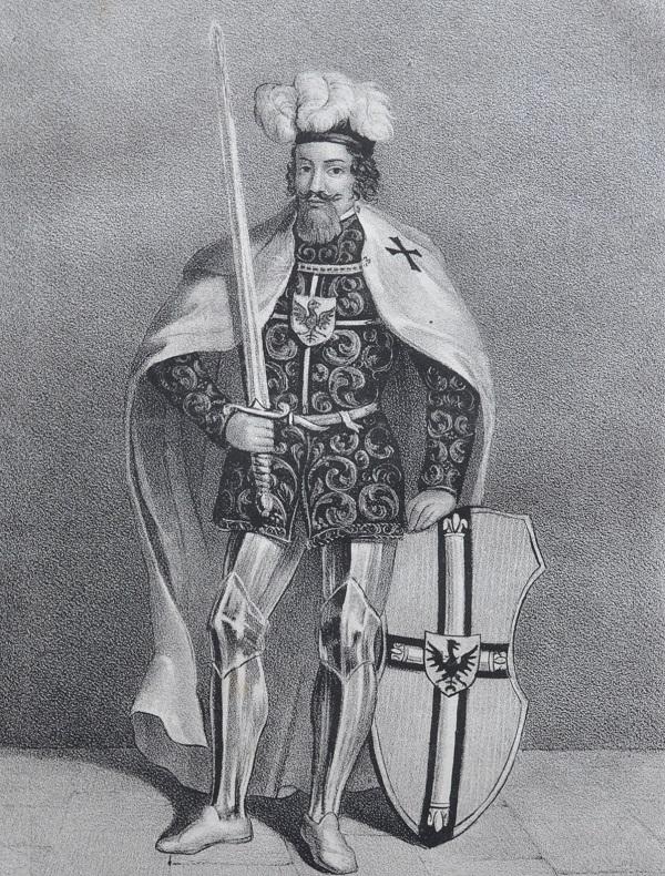 Винрих фон Книпроде в молодости.